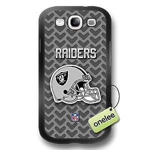 NFL Oakland Raiders Team Logo For Case HTC One M8 Cover Black Hard(PC) Soft - Black