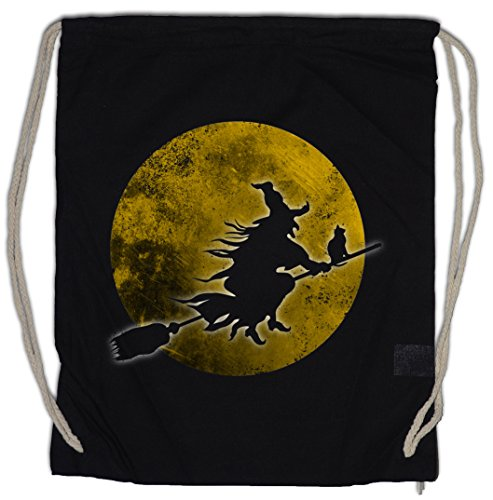 WITCH MOON Drawstring Bag Gym -