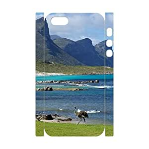 Brand New Durable 3D Case for Iphone 5,5S with Good mood beautiful scenery shsu_7631315 at SHSHU