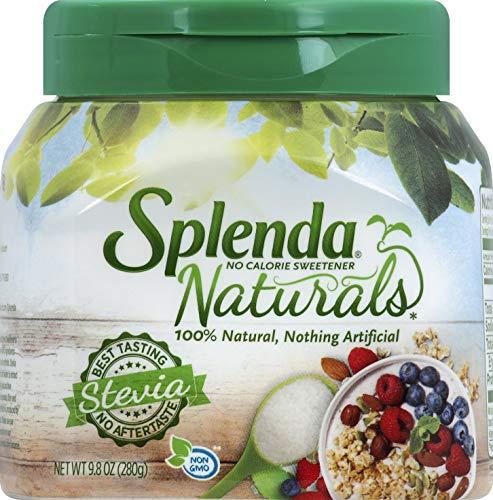 (SPLENDA Naturals Stevia Sweetener, 9.8 oz Jar)