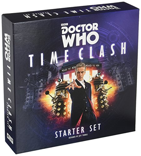 Dr Who Time Clash Starter Set Board Game (4 Player)