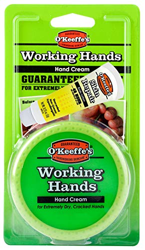 O'Keeffe's Working Hands Hand Cream, 3.4 ounce Jar with Bonu