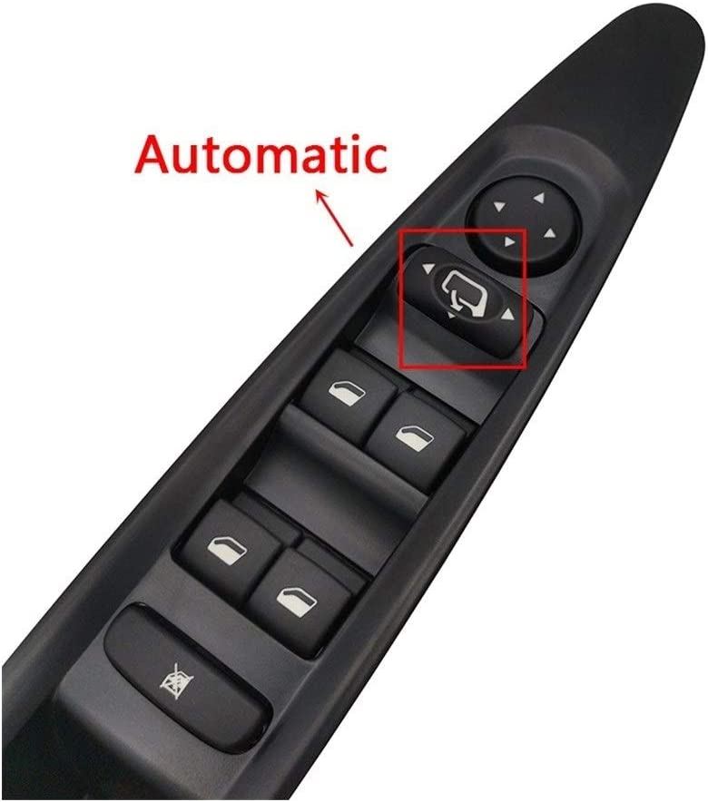 Color : Automatic Rearview N//F CCFS Fit For Citroen C4 Power Window Control Switch Button Switch Panel 2004 2005 2006 2007 2008 2009 2010 Car Accessories Front Left