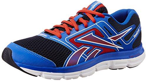 Reebok Dual Turbo Flier - Zapatillas infantiles, color azul / rojo / blanco, talla 23.5 Azul / Rojo / Blanco