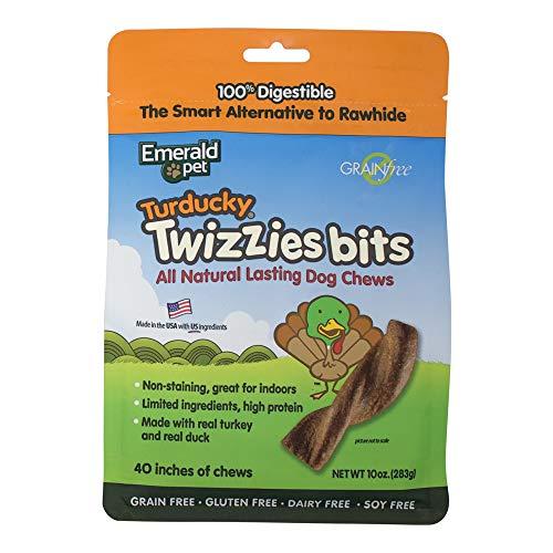 Cheap Emerald Pet Products Smart N Tasty Turducky Twizzies Bits- Turkey/Duck 10 Ounce