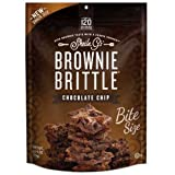 Sheila G's BROWNIE BRITTLE CHOCOLATE CHIP BROWNIE WITH COOKIE CRUNCH 2.75 OZ/8 ct