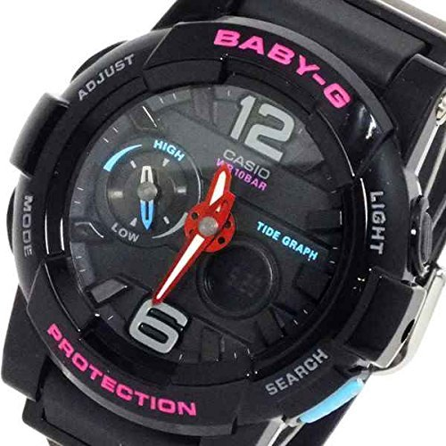 Casio CASIO Baby G BABY-G G- ride Ladies digital watch BGA-180-1B [parallel import goods]