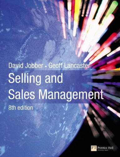 Selling and Sales Management (8th Edition)