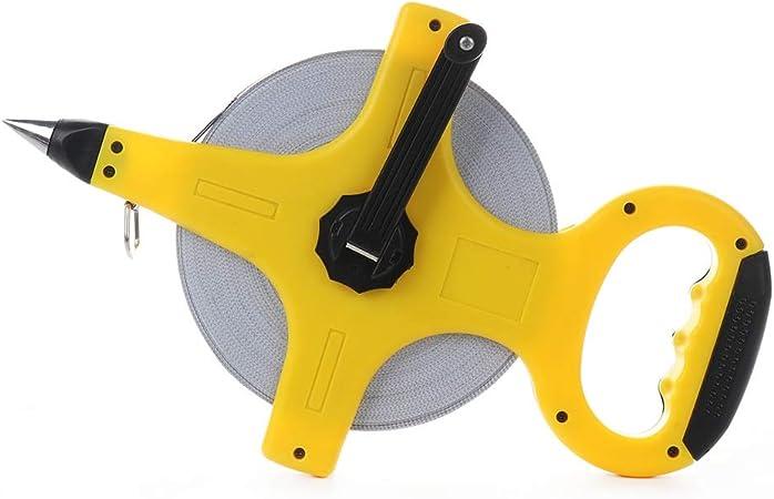 Retractable Metric Tape Open Reel Long Steel Measuring Ruler Woodworking Tools