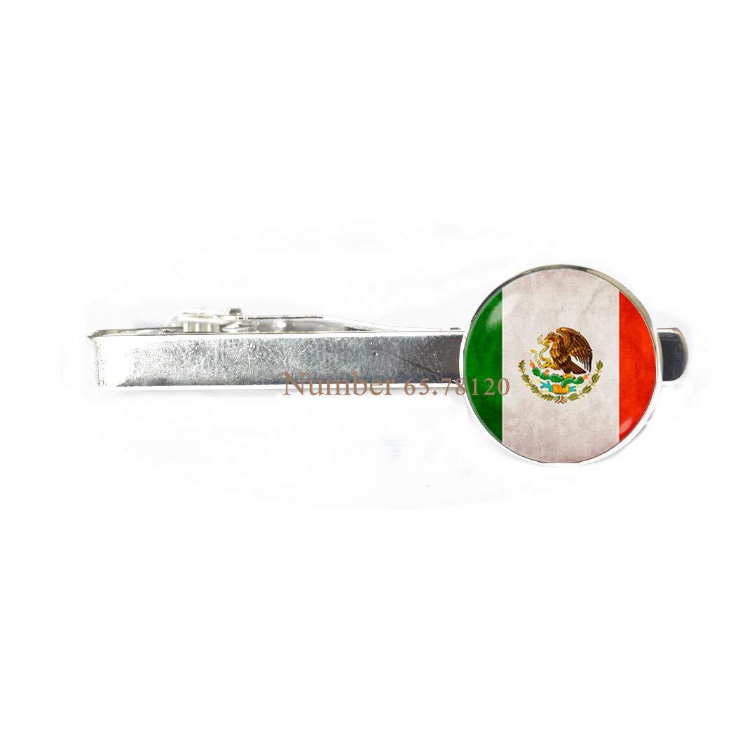 Pin de corbata con la bandera de México y clip de corbata mexicana ...