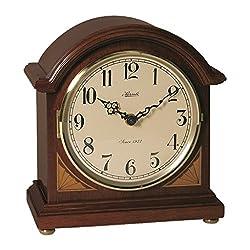 Qwirly Store: HERMLE Windfall Quartz Barrister Mantel/Table Clock Model 22919N9Q
