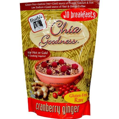 RUTH'S HEMP FOOD CHIA GOODNESS,CRNBRY GNG, 12 OZ