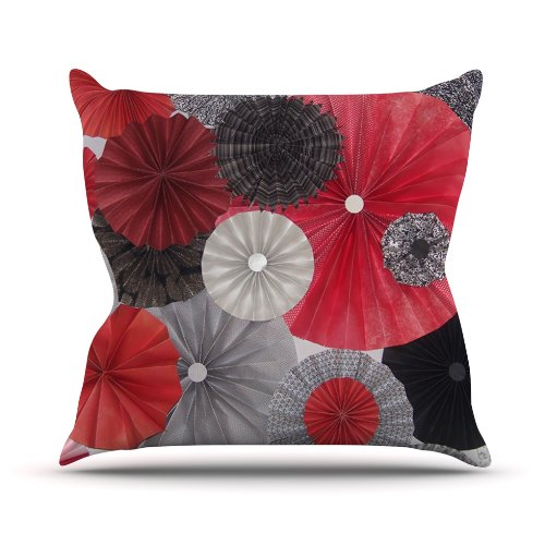 Heidi Jennings - red throw pillows and red pillow covers