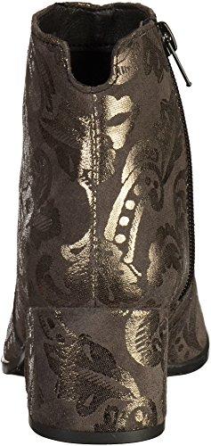 Tamaris 1-25967-39 Damen Stiefelette Grau(Anthrazit/Gold)