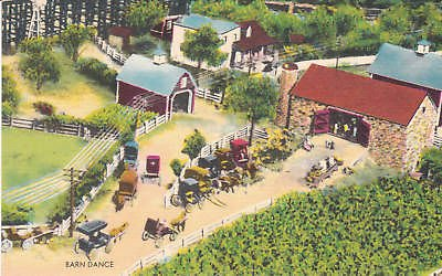 E2311 PA, Shartlesville Roadside America Barn Postcard