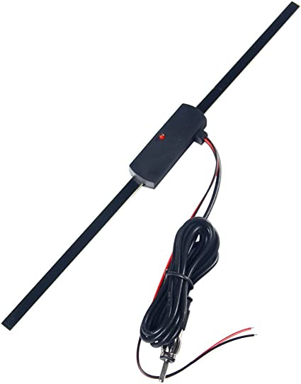12V Universal Car Stereo Radio Electronic Hidden Antenna Aerial FM//AM Amplified