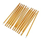 2pcs Tent Rod Camping Aluminum Alloy Tent Pole Spare Replacemet Tent Building Supporting Accessories 8.5mmx3.6M
