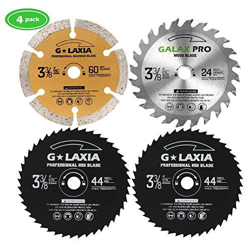 (Saw Blade Set, GALAX PRO Circular Saw Blades 3-3/8