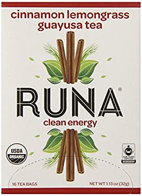Runa Amazon Guayusa Tea Box, 1.13 Ounce