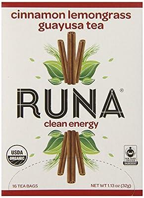 Runa Amazon Guayusa Tea Box, 1.13 Ounce
