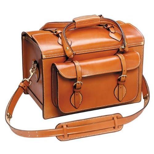 Image of 55100 551 Deluxe European Shooting Bag, Tan, Plain Finish Cases & Bags