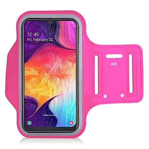 KP TECHNOLOGY Galaxy A50 / Galaxy A51 / Galaxy A52 5G / A52s 5G Armband Case – for Running, Biking, Hiking, Canoeing…