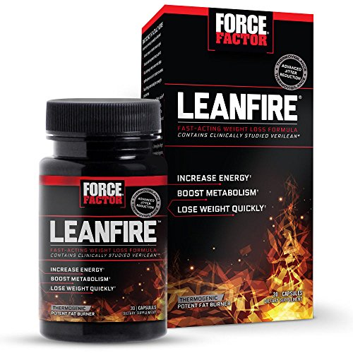 Force Factor Lean Fire Weight Lose, 30 Capsules