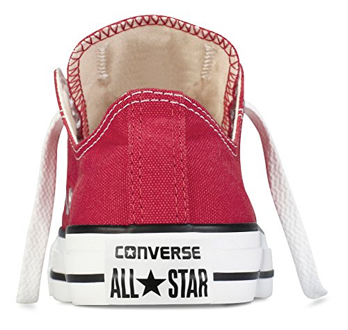 Converse Chuck Taylor All Star Ox - Zapatillas de Deporte de canvas Unisex Rojo