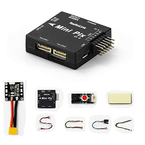 Radiolink Mini PIX Flight Controller with Vibration Damping by Software and OSD Port Size Same as F4 FC for Mini Racing Drone/Helicopter/Fixed Wing