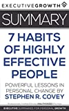 img - for Summary: The 7 Habits of Highly Effective People - Powerful Lessons in Personal Change by Stephen R. Covey book / textbook / text book