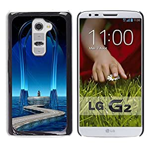 Stuss Case / Funda Carcasa protectora - Middle Of The Blue Ocean - LG G2