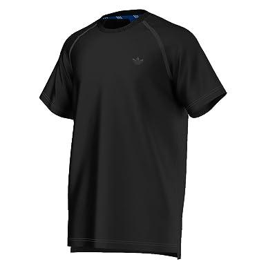 adidas Originals Sport Luxe Small Logo Short Sleeve Mens T-Shirt Black  aj3821 (Size dcc6c5ba3