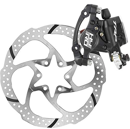 Hydraulic Front Disc Brake Rotor - TRP HY/RD Road Hydraulic Disc Brake Caliper Black Rotor Front 160mm