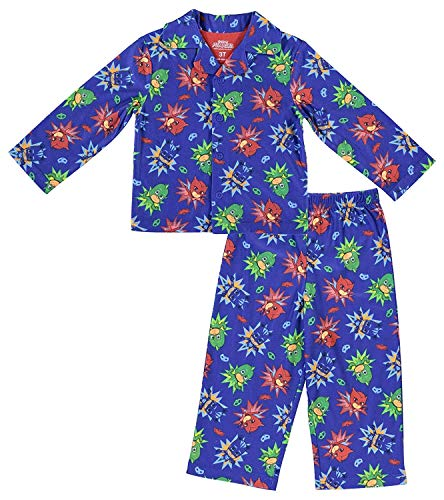 Entertainment One Boys PJ Masks Pajamas - 2-Piece Long Sleeve Pajama Set (Royal Blue, 4) -