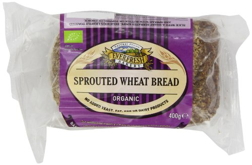 Price comparison product image Everfresh Bakery - Organic Sprouted Wheat Bread - 400g