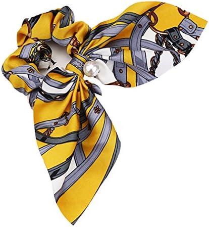 (ミニマリ) minimali シュシュ リボン キレイめ スカーフ パール フェミニン 髪飾り ヘアゴム ヘアアクセサリー