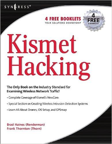 Amazon com: Kismet Hacking eBook: Frank Thornton, Michael J