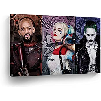 Amazon.com: Suicide Squad Joker and Harley Quinn Playing