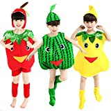 Halloween Costumes Children/Adult Fruits Style Clothes Christmas Cosplay Apple Pear Watermelon Clothes