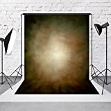 5ft(W)x7ft(H) Abstract Photography Backdrops Seamless Cloth Retro Solid Brown Texture Photo Background Studio Props for Photographer