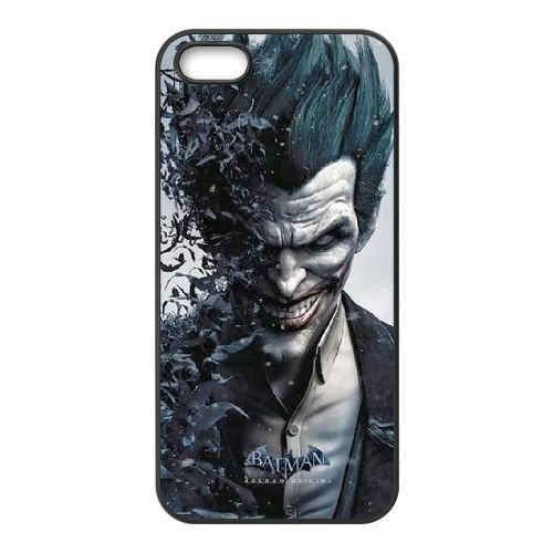 Batman Joker MM33PR2 coque iPhone 5 5s cellulaire cas de téléphone H6JD2N7HS Coque
