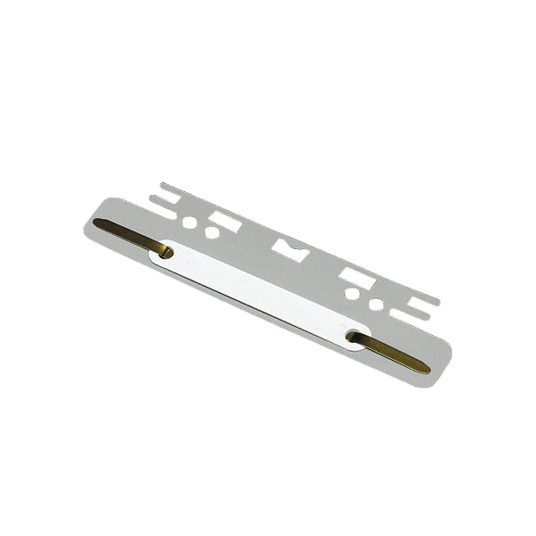 Elba 100551905 - Strisce con graffe fermadocumenti (per archivio sospeso con foratura) in cartone, 100 pezzi, grigio Hamelin GmbH