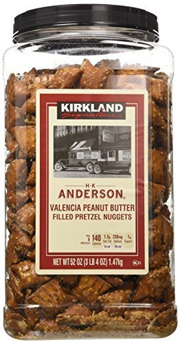 Kirkland Signature Peanut Butter Pretzel, 3 X 52 Ounce by Kirkland Signature (Image #1)