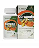 Genceutic Naturals Curcumin 250Mg Herbal Supplement, 60-Count For Sale