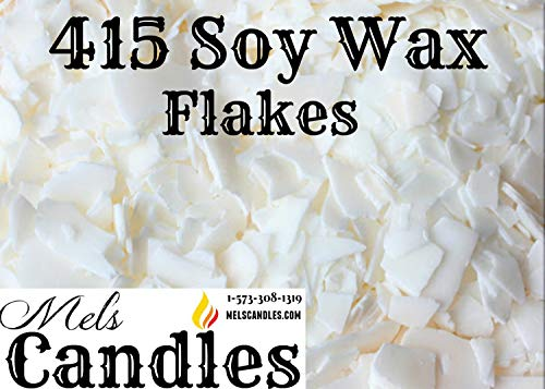 (3 Pound Bag of Soy Wax Flakes- Natural Soy 125 (415) Wax a Pure Soy Container Wax with No Additives.)