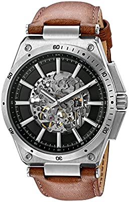 Michael Kors Men's Wilder Silver-Tone Watch MK9030