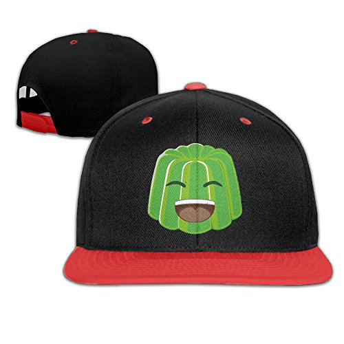 green-jelly-youtuber-vlog-youth-unisex-contrast-color-cap-baseball-hats-4-colors