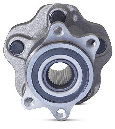 Tomegun 4 to 5 Lug Wheel Bearing Conversion Hub Rear Pair For 89-99 S13/S14 Nissan 240SX by Tomegun (Image #5)