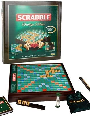 Scrabble Prestige Edition - Juego de tablero, 2 a 4 jugadores (Leisure Trends Limited LTL10109) (versión en inglés) , color/modelo surtido: Amazon.es: Juguetes y juegos