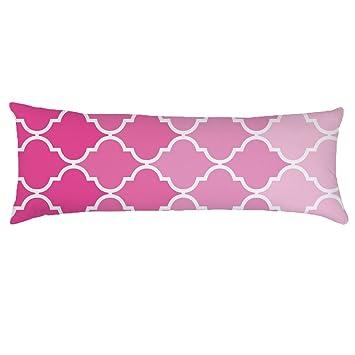 Amazon Com Alicia Haines Light Pink Body Pillow Cover Decorative